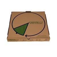 GreenBox Kraft Pizza Box