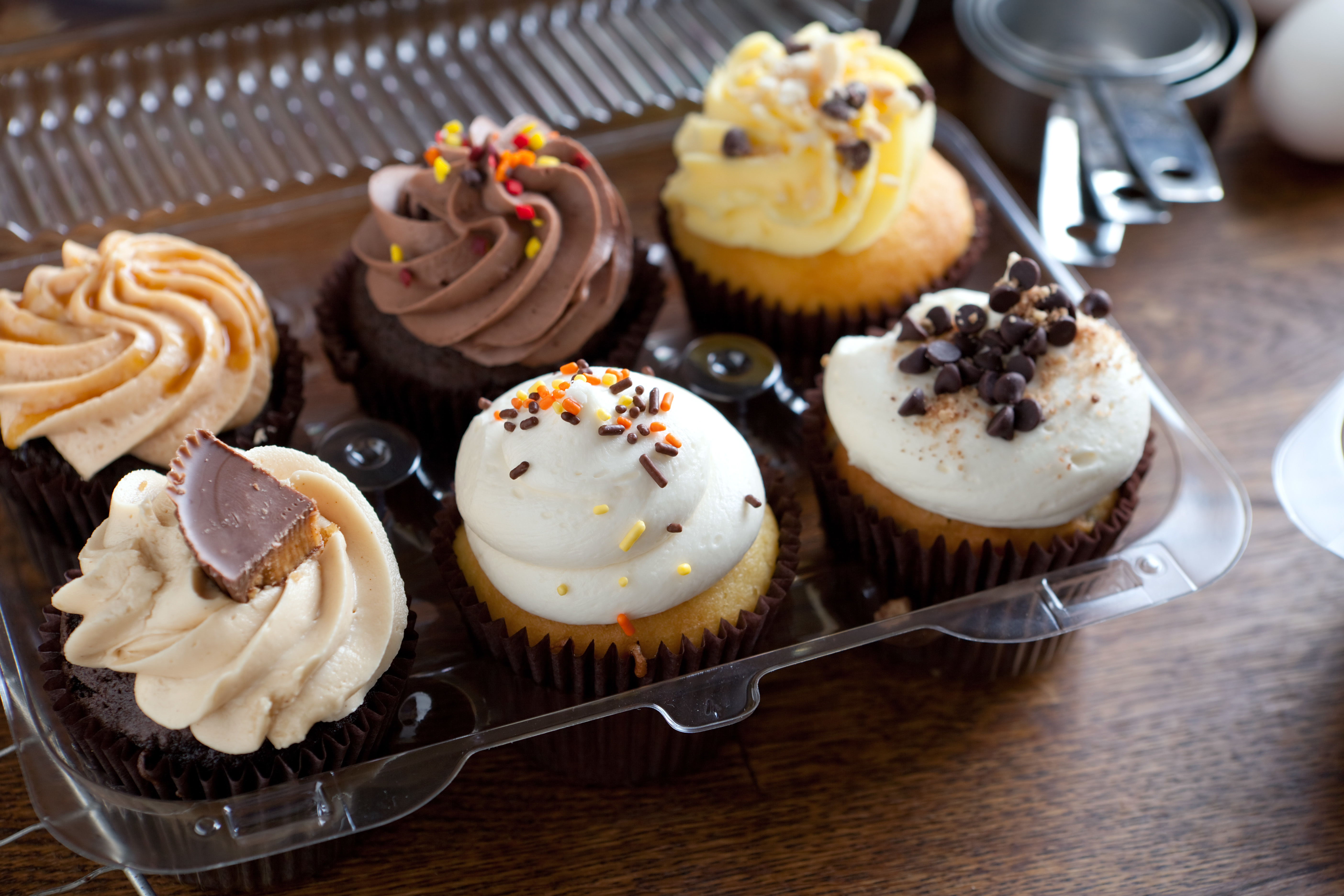 Cupcakes to-go