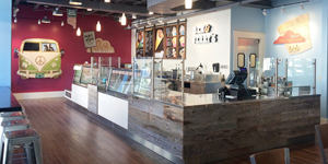 Ben and Jerrys interior
