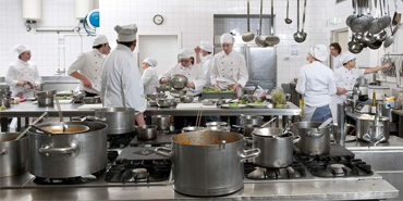 Kitchen Design 101 - chefs in busy kitchen